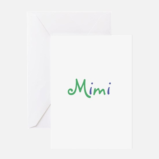 Mimi Greeting Card