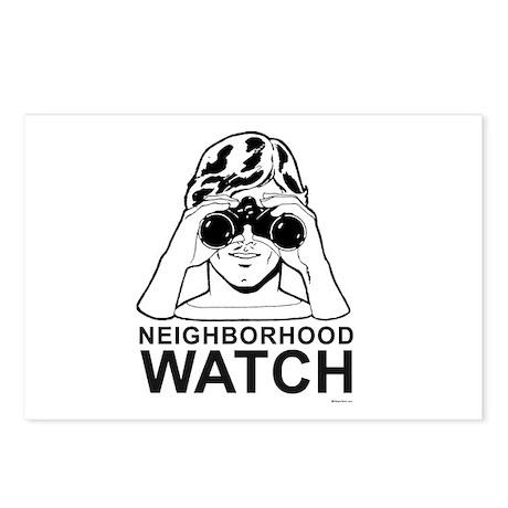 Neighborhood Watch ~ Postcards (Package of 8)