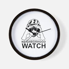 Neighborhood Watch ~  Wall Clock
