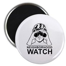 "Neighborhood Watch ~ 2.25"" Magnet (10 pack)"