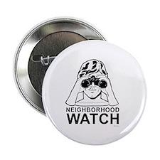"""Neighborhood Watch ~ 2.25"""" Button (10 pack)"""