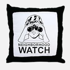 Neighborhood Watch ~  Throw Pillow