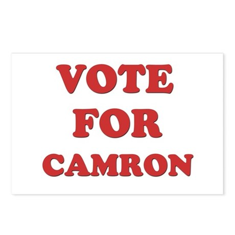 Vote for CAMRON Postcards (Package of 8)
