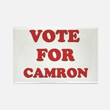 Vote for CAMRON Rectangle Magnet