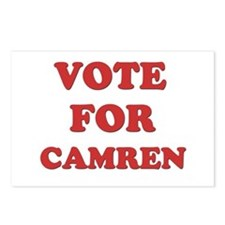 Vote for CAMREN Postcards (Package of 8)