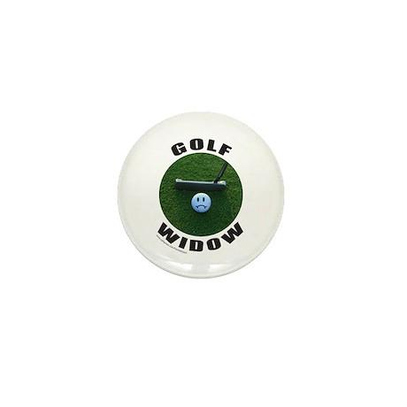 GOLF WIDOW Mini Button