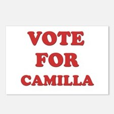 Vote for CAMILLA Postcards (Package of 8)