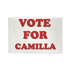 Vote for CAMILLA Rectangle Magnet
