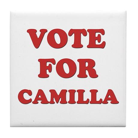 Vote for CAMILLA Tile Coaster