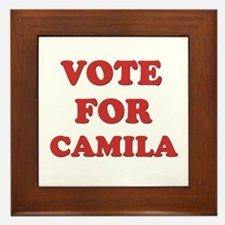 Vote for CAMILA Framed Tile