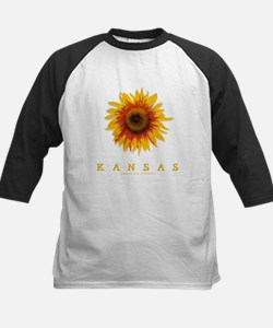 Kansas Sunflower Kids Baseball Jersey