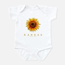 Kansas Sunflower Infant Bodysuit