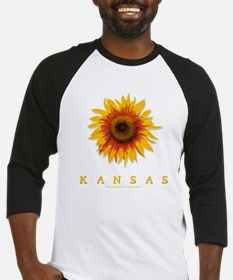 Kansas Sunflower Baseball Jersey