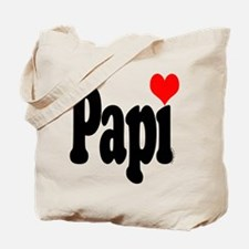 I love Papi Tote Bag