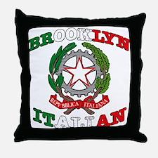Brooklyn Italian Throw Pillow