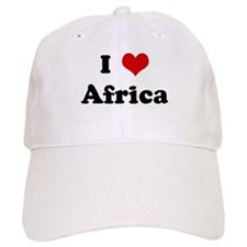 I Love Africa Baseball Cap