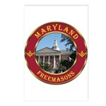 Maryland Masons Postcards (Package of 8)