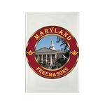 Maryland Masons Rectangle Magnet (100 pack)