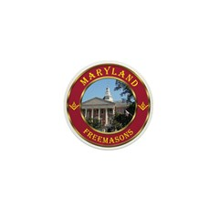 Maryland Masons Mini Button (100 pack)