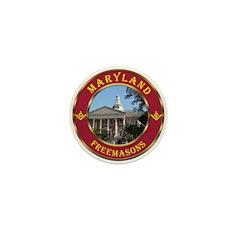 Maryland Masons Mini Button (10 pack)