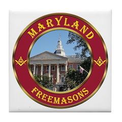 Maryland Masons Tile Coaster