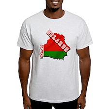 Belarus Map Flag T-Shirt