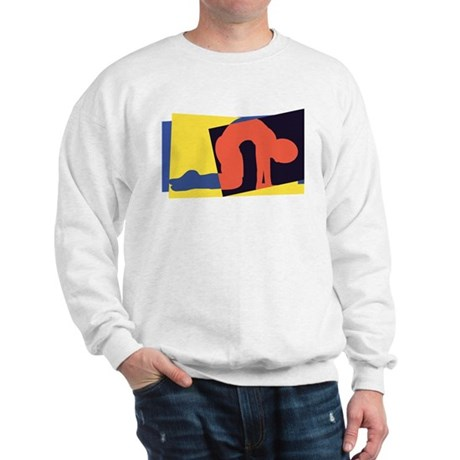 Cat Pose Sweatshirt