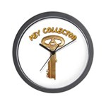 Key Collector Wall Clock