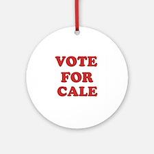 Vote for CALE Ornament (Round)