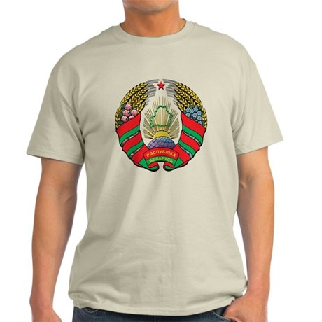Emblem of Belarus Light T-Shirt