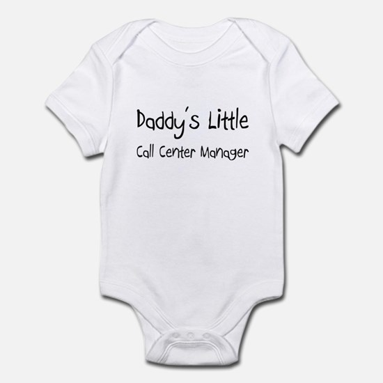 Daddy's Little Call Center Manager Infant Bodysuit