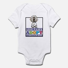 Adopt a Clumber Infant Bodysuit