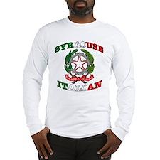 Syracuse Italian Long Sleeve T-Shirt