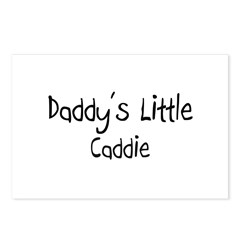 Daddy's Little Caddie Postcards (Package of 8)