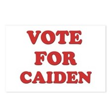 Vote for CAIDEN Postcards (Package of 8)