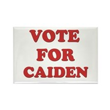 Vote for CAIDEN Rectangle Magnet