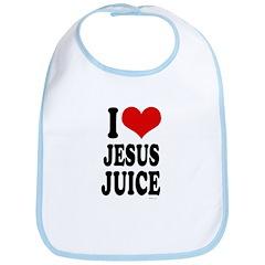 I Love Jesus Juice ~ Bib