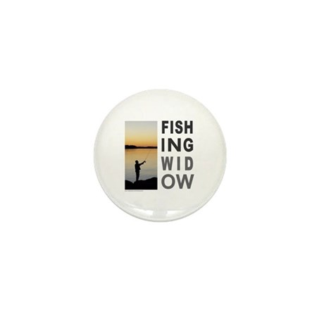 FISHING WIDOW Mini Button (100 pack)