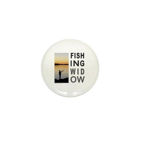 FISHING WIDOW Mini Button