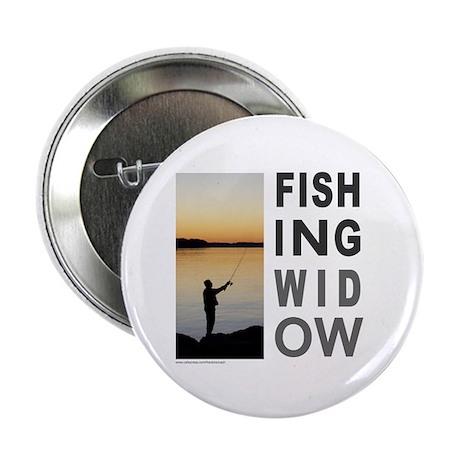 """FISHING WIDOW 2.25"""" Button (100 pack)"""
