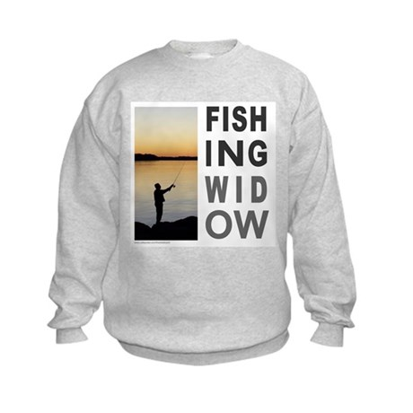 FISHING WIDOW Kids Sweatshirt