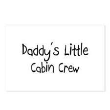 Daddy's Little Cabin Crew Postcards (Package of 8)