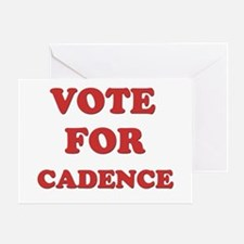 Vote for CADENCE Greeting Card