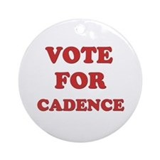 Vote for CADENCE Ornament (Round)