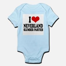 I Love Neverland Slumber Parties ~  Infant Creeper