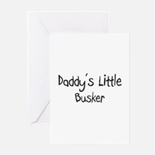 Daddy's Little Busker Greeting Cards (Pk of 10)