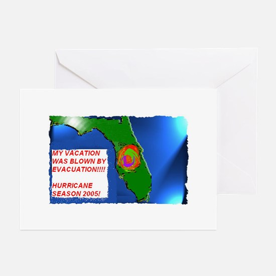 Vacation_Evacuation Greeting Cards (Pk of 10)