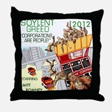 Mitt 2012 Sci-Fi Quote Throw Pillow