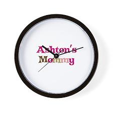 Ashton's Mommy Wall Clock