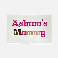 Ashton's Mommy Rectangle Magnet